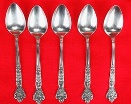 5X Teaspoons Merchandise Service Versailles Stainless Glossy Flatware 6.... - $47.52