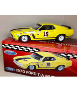 WELLY 1:18 1970 FORD T/A MUSTANG BOSS RACE CAR Ltd Ed. Follmer  - $89.99