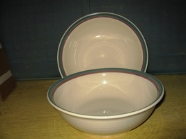 "(2) Vegatable Serving bowls by Pfaltzgraff- ""Juniper""- 8 1/2"" - $10.00"