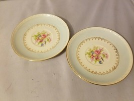 Homer Laughlin Tea Cup Saucers Small Dishes China Eggshell Georgian Set ... - $27.89