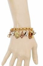 Mignon Bébé Mère Charms Bracelet Par Shelley Cooper Sweet Romance Fait A... - $46.68