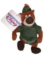 Vintage Disney Store Robin Hood Little John Bean Bag Plush Stuffed Toy w... - $18.80