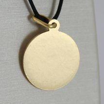 Anhänger Medaille Gelbgold 750 18K, Papa Francesco, 17 mm, Made in Italien image 5