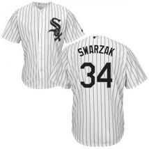 Men's Chicago White Sox #34 Anthony Swarzak White Cool Base Jersey Cheap - $35.80+