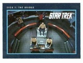 Star Trek card #237 Deck 1 The Bridge USS Enterprise - $3.00