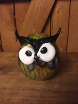 GCA ART GLASS OWL - $37.04