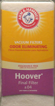 VACUUM FILTER Arm & Hammer Hoover FINAL FILTER 04 40110004 & 38766009 NE... - $8.41