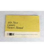 1976 Chevrolet Nova Camaro Owner's Manual - $14.84
