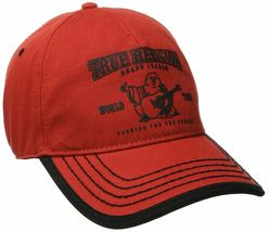 True Religion Men's Cotton Buddha World Tour Baseball Trucker Hat Cap TR1988 image 10