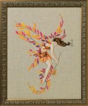 "NC253 ""Glittering Leaves"" Nora Corbett Chart + MH Beads + Caron 0.5 - $21.77"