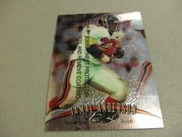 1998 Topps Finest w/peel #99 Jamal Anderson -Atlanta Falcons- - $3.12