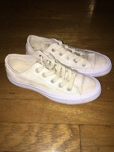 Converse Chuck Taylor All Star OX unisex 3 mens 5 womens Driftwood/White... - $39.60