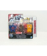 "NIB 2016 TRANSFORMER THE LAST KNIGHT TINY TURBO CHANGERS 2"" ACTION FIGURES - $8.99"