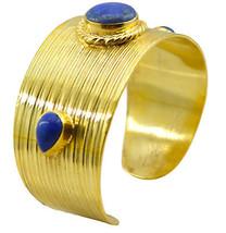 Multi Gold Plated Glass enticing Multi Gemstone usually Bangle AU gift - $20.45