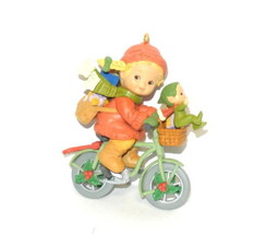 Memories Of Yesterday Enesco 592846 Bringing Good Wishes Your Way Ornament in bo - $14.80
