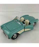 BBurago Chevrolet Corvette convertible model car 1957 Made in Italy - $22.90