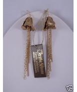 Citrine by the Stones Rosebud Bell Earrings Gold NWT - $114.94