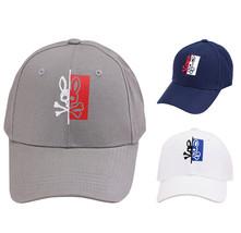 Psycho Bunny Men's Cotton Embroidered Logo Dovedale Baseball Cap Strapback Hat