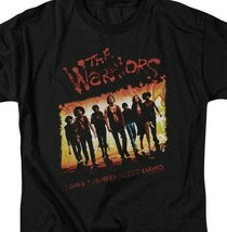 The Warriors t-shirt 1 gang 9 members retro 70's cult classic graphic tee PAR113 image 2