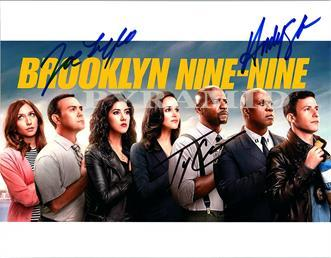 Primary image for BROOKLYN NINE NINE Cast Autographed Hand Signed Photo w/ COA -5035