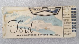 FORD PASS 1965 Owners Manual 15757 - $16.88