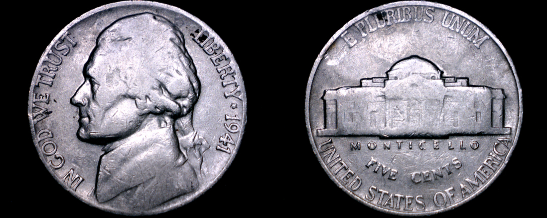 Primary image for 1941-P Jefferson Nickel