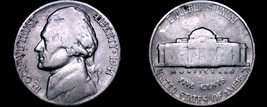 1941-P Jefferson Nickel - $1.25