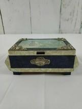 Vintage Music Box Portugal Recordacao da MADEIRA Hotel Belmonte Tested W... - $19.34