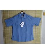 BLAUER CLASS ACT MEN/WOMEN POLICE UNIFORM SHORT-SLEEVE SHIRT STRETCH RAY... - $17.63