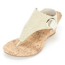 White Mountain 'aida' Women's Sandal, Gold Glitter - 9.5 M - $35.98