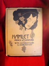 Hamlet Prince of Denmark by Shakespeare in jacket with John Austen Art - $1,372.00