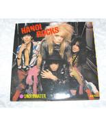 Black Vinyl Record 7 Inch Hanoi Rocks Underwater World CBS A4732 UK - $26.99