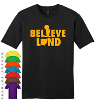 2016 Nba Champions Cleveland Cavaliers Believeland Mens Gildan T-Shirt New - $19.50
