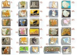 Animals Italian Charm 9mm Classic Sz 100% Stainless Steel - 30 to choose from! - $3.42+