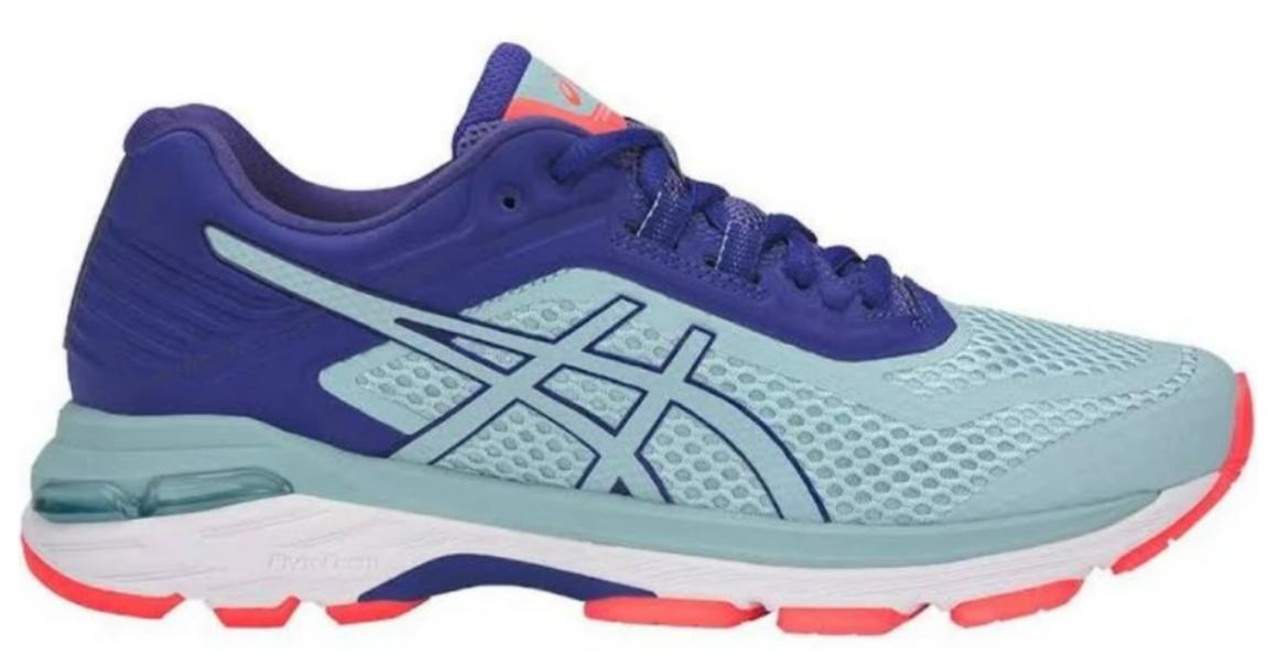 Asics GT 2000 v 6 Sz 6.5 M (B) EU 37.5 Women's Running Shoes Purple Blue T855N