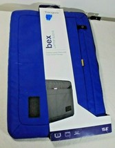 """Targus 14 Bex Padded Laptop Sleeve with Front Pocket Storage Blue 15.6"""" - $18.35"""