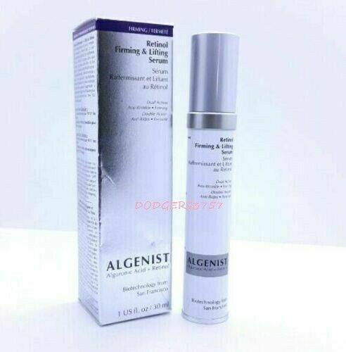 Algenist Retinol Firming & Lifting Serum Full Size 1 Oz Brand New Boxed