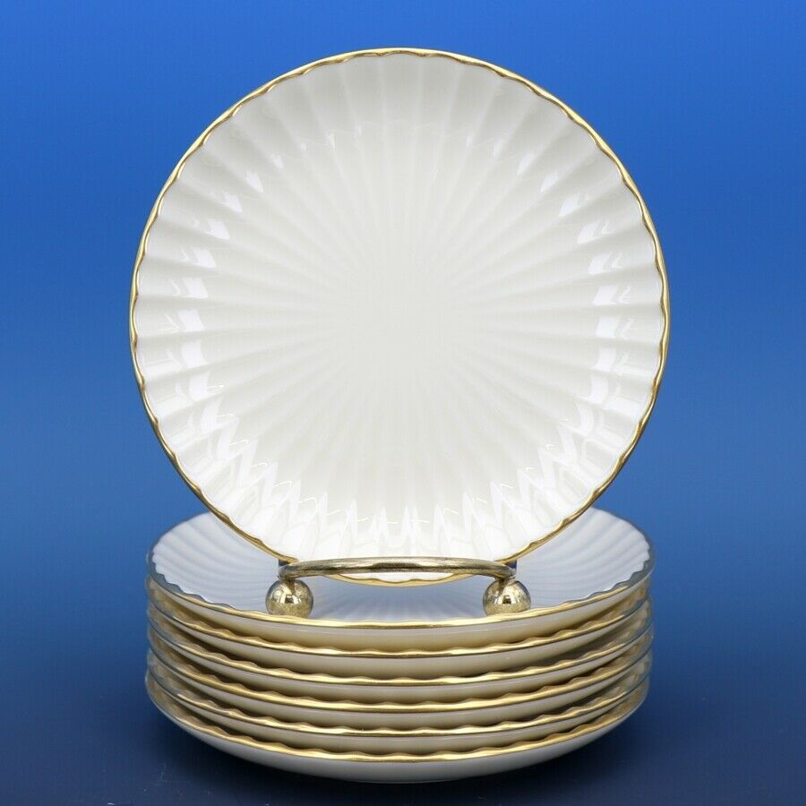 Lenox Fine China Hampton Coasters - a set of 7 - Very Fine Condition