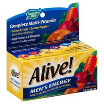 Nature''s Way Alive! Men''s Energy Complete Multivitamin Tablets 50 CT (... - $90.93