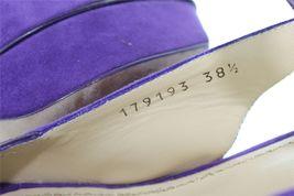 Suede 5 Purple EU de 5 sandalias UK 8 alto 5 SAINT 5 US tacon YVES LAURENT 38 qgzntxxf