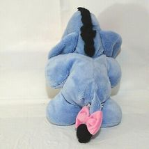Disney Winnie the Pooh Eeyore Stuffed Plush Toy Blue Pink  image 4