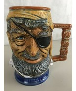 RIP Vietata S. Orvis Hand Painted Pirate Beer Stein Mug Made In Italy 6.... - $28.66