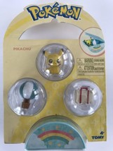 Pokemon Tomy Mini Figure - PIKACHU with Accessories & Case (1 inch) - New - $7.99