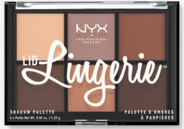 2 x NYX Lid Lingerie Shadow Palette LLSP01 - 2 Total  - $12.89