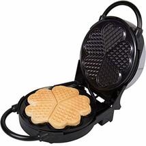 Maquina Para Hacer Waffles Con Diseño De Corazon Plancha Antiadherente - €54,37 EUR