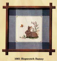 "Creative Circle Cross Stitch Hopscotch Bunny Rabbit Easter Kit 11-1/2"" x... - $16.99"