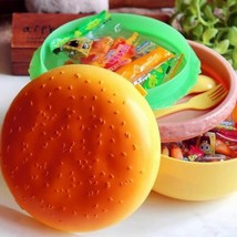 Hamburger Children Lunch Box Teenage Kids Boys Girls School Lunchbox Con... - $9.77