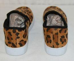 Soho Girls Jerry 2 Leopard Flat Rubber Sole Slip On Comfort Sneakers Size 8 Half image 4
