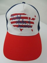 The United States of America Red White & Blue Adjustable Adult Cap Hat - $12.86