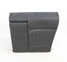 BMW E46 Black Leather Left Rear Seat Backrest Cushion w Fold Down 1999-2... - $123.75
